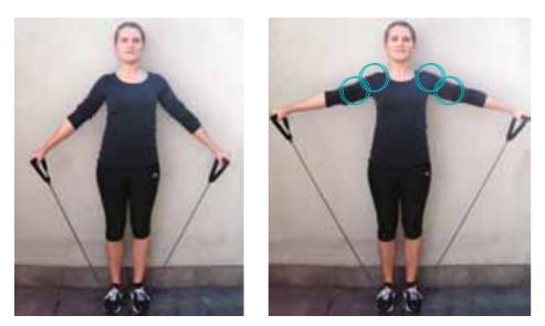 bbc502bf996 Styrk den øverste del af din krop - 10 øvelser med elastik - Løberne.dk
